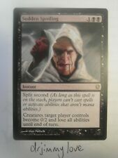 Sudden Spoiling - Commander 2013 - Eng NM Near Mint - mtg magic