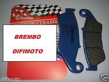 PASTILLAS DE FRENO DELANTERO BREMBO CARBONO CERÁMICO 07KA1705 APRILIA RXV 550 08