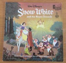 Walt Disney's Snow White Seven Dwarfs Original Motion Picture Soundtrack LP
