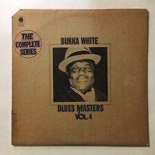 BUKKA WHITE ~ BLUES MASTERS VOL. 4 ~ LP RECORD