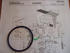 GAGGIA CLASSIC Baby Caffè Tebe Evolu EPDM CALDAIA DELLA GUARNIZIONE O-RING DM0041/082