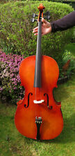 More details for for repair / as found - vintage second hand cello - made in hungary / hungarian