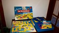 Vintage Junior Scrabble Board Game Family Game 1999 almost complete