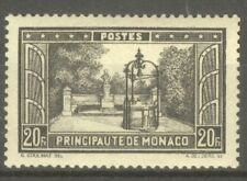 "MONACO STAMP TIMBRE N° 134 "" PLACETTE F. BOSIO 20F NOIR "" NEUF xx SUP"