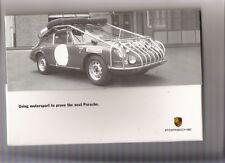 Inusual Porsche Cayenne introductoria folleto Jm