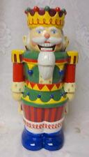 Vintage Christmas Nutcracker SUGAR CANDY GINGERBREAD Cookie Jar Table DECOR