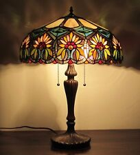 Green Glass Table Lamps Ebay