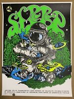 David D'Andrea Sleep East Coast Tour 2016 Print Signed Limited Roper