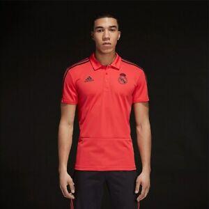 Adidas Polo Real Madrid, Adidas Polo Shirts Real Madrid, Real Madrit Shirts - L