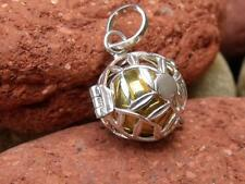 BALINESE 925 SILVER HARMONY BALL/CHIME BALL PENDANT SILVERANDSOUL JEWELLERY