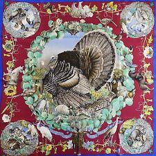 Bird Collectors HERMES Faune Flore du Texas Wildlife SILK SCARF by Kermit Oliver