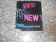 WILLIAM KLEIN NEW YORK FELTRINELLI 1956 PHOTOBOOK
