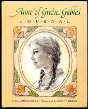Donna Green Color Illustrations ANNE OF GREEN GABLES JOURNAL w/ Lined Pages HC