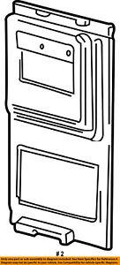FORD OEM E-350 Econoline Club Wagon Side Sliding Door-Trim Panel F6UZ1627419AAA