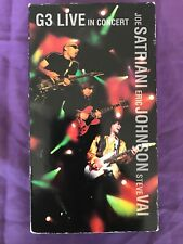 G3 Live In Concert Joe Satriani Eric Johnson Steve Vai Vhs