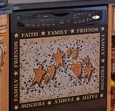 Country Kitchen Dishwasher Magnet Hearts Stars & Berries Faith Family Friends