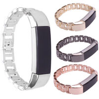 Fitbit Alta Replacement Bracelet Wrist Band Track Latch Buckle Stainless Steel C