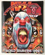 KISS - PSYCHO CIRCUS World Tour programme 1998-99 + AFTER SHOW pass