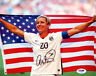 ABBY WAMBACH AUTHENTIC AUTOGRAPHED SIGNED 8X10 PHOTO TEAM USA PSA/DNA 101375