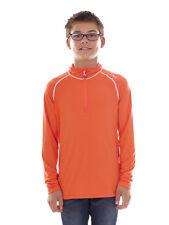 CMP Sweatshirt Function Top Orange Collar Stretch Softech Lightweight