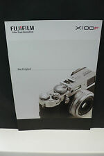 2017 Fujifilm x100f FUJI FOTOCAMERA prospetto Photo apparato catalogo camera brochure