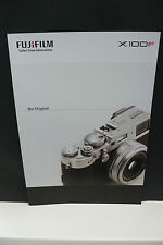 2017 Fujifilm x100f FUJI FOTOCAMERA prospetto Photo apparato catalogo camera brochure