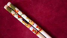 Chinese Japanese Traditional Chopsticks - Cute Lucky Cat Orange