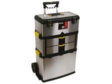 Servante d'atelier boîte à outils acier inoxydable 3 compartiments électroménage
