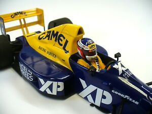 Tyrrell Ford 018 Jean Alesi 1989 debut French GP Minichamps 1.18 scale