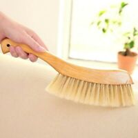 Small Wood Handle Bed Brush Soft Bristles Dusting Cleaning Brush for Sweeping