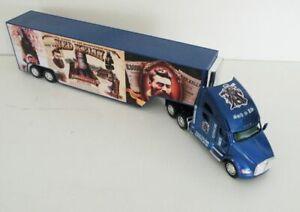 KENWORTH T Series Blue Diecast 1/66 Truck Trailer Ned Kelly Custom Graphics