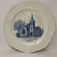 """The First Presbyterian Church Findlay Ohio Decorative Collectible Plate 10 1/4"""""""