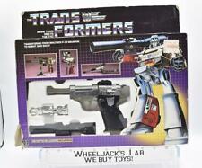 Megatron 100% Complete B MIB Complete 1984 Vintage G1 Transformers