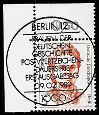 32) Berlin 5 Pf. Frauen  833 Eckrand Ecke 1 E1 ESST Berlin 12 m Gummi Perfekt
