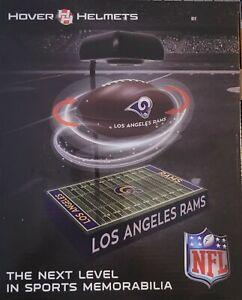 Los Angeles Rams Hover Helmet NFL Football Desk Den Levitating Electromagnet