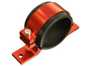 60mm Billet Fuel Pump Bracket in RED for WALBORO BOSCH SYTEC pumps **NEW**