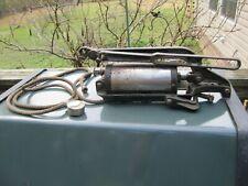 Original 1916-20 Car Truck Accessory Running Board Tire Air Pump clamp on Tool