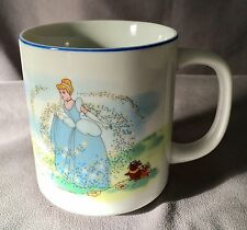 Walt Disney World Disneyland Coffee Mug Cinderella Fairy Godmother Mice Magical