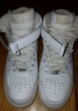 Nike Air Force 1 ALL WHITE MEN'S SIZE 12 SPECIAL!!