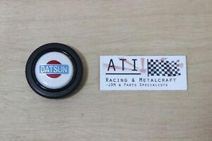 MOMO Datsun White Steering Wheel Horn Button