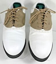 Nike Women's Golf Shoes Saddle Oxford Style Soft Spikes Size 9 Us