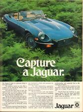 Print.   1974 Jaguar E-Type auto Ad