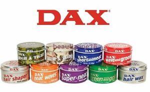 Dax Hair Wax - All Types - FULL RANGE