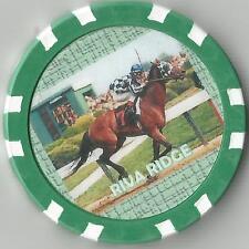 *RIVA RIDGE*  DERBY & BELMONT WINNER  HORSE RACING COLLECTOR CHIP