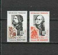 s25080) FRANCE 1972 MNH** Famous persons 2v