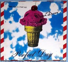 DURAN DURAN PERFECT DAY CD SINGLE 1995 - NEEDLE AND THE DAMAGE DONE UK RARE
