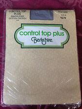 vintage Berkshire control top pale grey pantyhose size 4