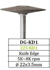 Diamond Grinder Knife Edge DG-KD1 Coarse 22x3.5 Besqual 4 Ceramics Soft Alloys