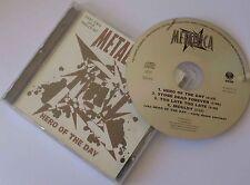 "♪♪ METALLICA ""Hero of the day"" Maxi CD single (GERMANY press) ♪♪"