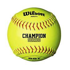 Wilson Nfsha A9011 Champion Séries Sst de Softball Balle 30.5cm Jaune